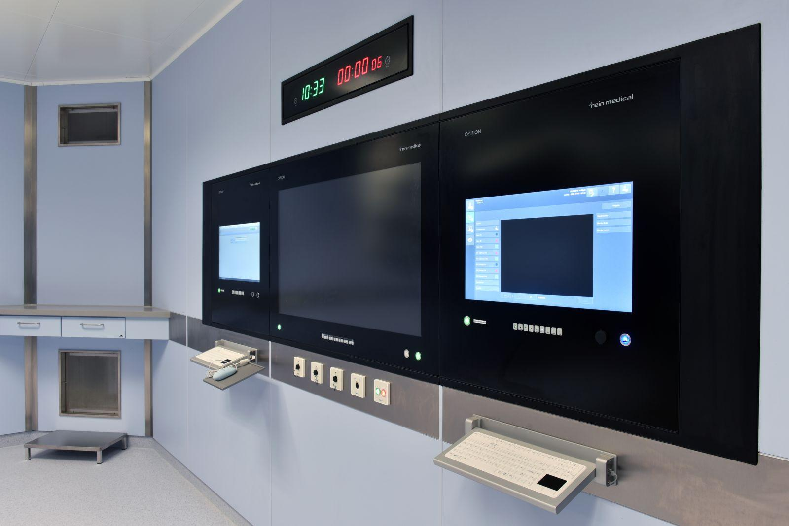 OP Workstation, Medizinischer Monitor, medical monitor, Touch Monitor