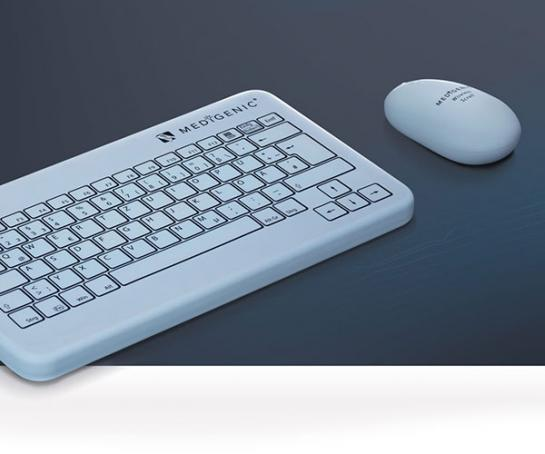 Medigenic Mouse and Keyboard